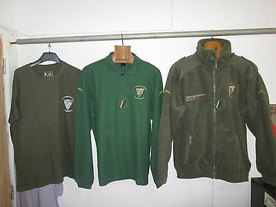 French Foreign Legion size XL 2 REP-set winter Polar Fleece+polo+t shirt -CCh
