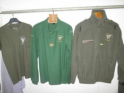 French Foreign Legion size L 2 REP-set winter Polar Fleece+polo+t shirt -ADC