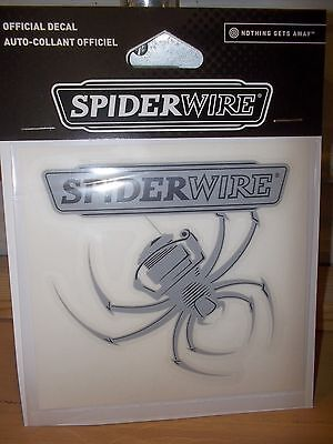 """Spiderwire Official Decal 5""""  NIP"""