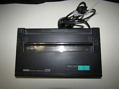 Yamaha MSX Dot Impact Printer PN-101 - Still works! - PN-101U Rare Vtg
