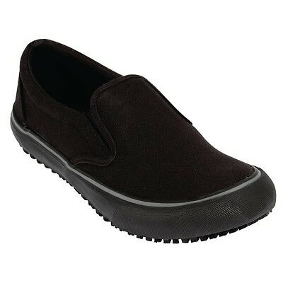 Shoes For Crews Mens Coated Canvas Slip On 47