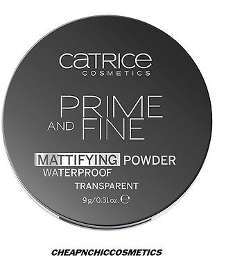 Catrice - Poudre Matifiante  Mattifying Powder Waterproof