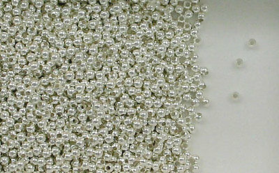 925 Sterling Silver 2mm Round Seamless Look Spacer Beads, Choice Lot Size Price