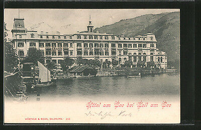 alte AK Zell am See, Grand Hotel am See 1903