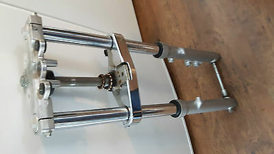 SUZUKI MARAUDER gz250 FRONT FORKS WITH TRIPPLE TREE  gz-250