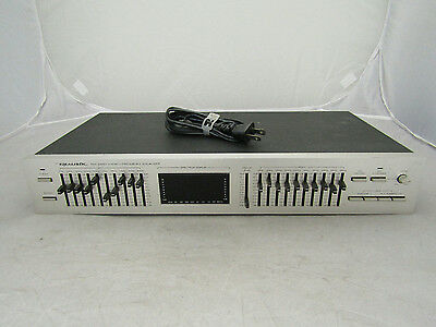 Realistic 31-2020 Ten Band Stereo Frequency Equalizer W/Spectrum Display