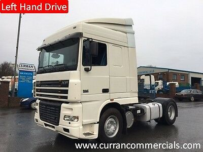 2006 daf xf 95 430 space cab 4x2 tractor unit Manual Left Hand Drive lhd