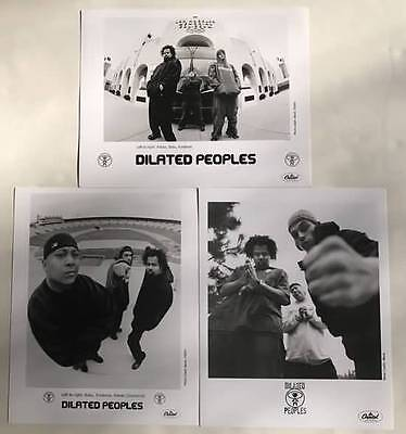 DILATED PEOPLES Set of Three 8x10 Publicity Photos from Capitol 2001