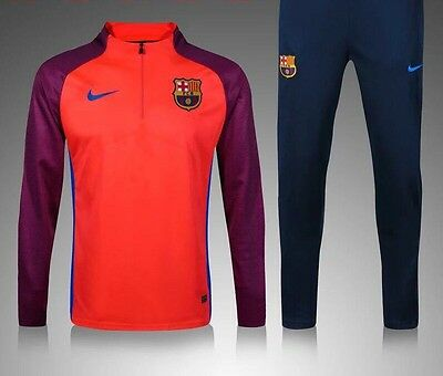Barcelona Kids Football Tracksuit, Not Kit  Red/Purple Age 7/8 New With Tags