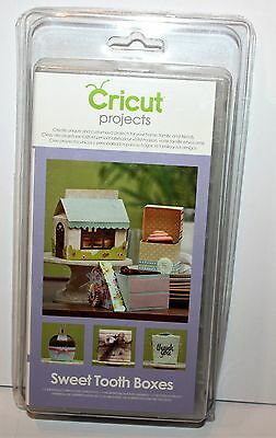 CRICUT Projects Cartridge SWEET TOOTH BOXES for  Cricut Machines NIB