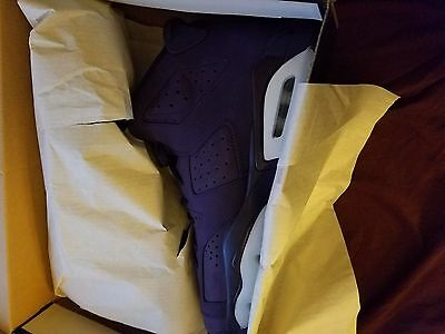 3c95df6b95e77d NEW 2016 Retro Nike Air Jordan VI 6 Purple Dynasty size 9Y Doernbecher