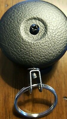 """KEY-BAK #484B-HD Retractable Reel with 48"""" Stainless Steel Cable -Brand New"""