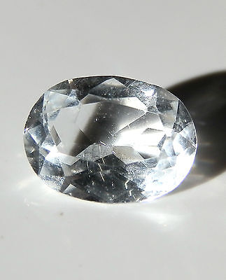 Natural earth-mined clear white Australian Topaz....2.5 carat