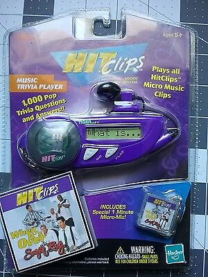 Hit clips micro music system from tiger electronics