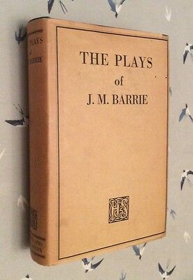 The Plays Of J M Barrie In One Volume Including Peter Pan 1928