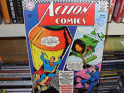Action Comics  No. 348  - DC March 1967 - SILVER AGE - Good