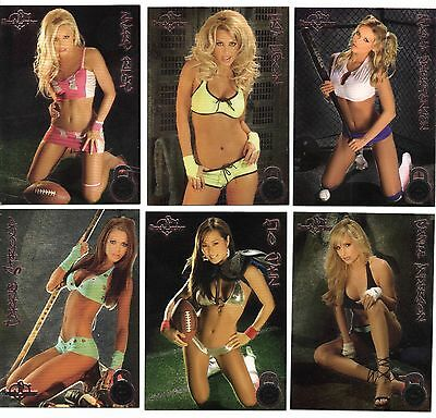 BW 2005 Locker Room Lot of 6, Foil Cards