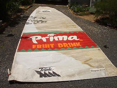 18' skiff mainsail 9.6 x 3.33m 6 battens required 10mm boltrope good+
