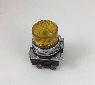 Cutler-Hammer Yellow Pilot Light 30MM 10250T34Y