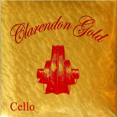 Clarendon Gold Series Strings 4/4 Full Size Cello String Set