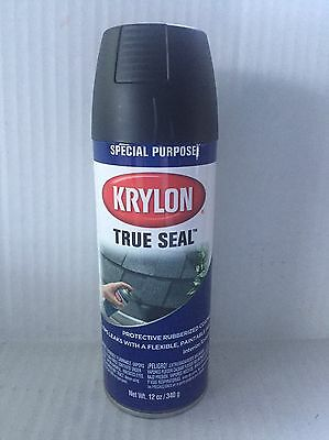 Krylon 2701 True Seal Black Rubberized Coating - 12 oz. Aerosol