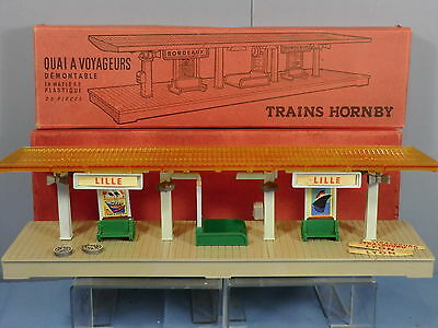 """Vintage French Hornby   """" Country"""" Station  Quai Demontable   Vn Mib"""