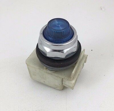 Square D Blue Pilot Light 24-28V AC-DC L9 30MM 9001KM35