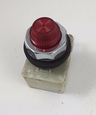 Square D Red Pilot Light 110-120VAC 9001-KP1R31 30MM 9001KP1R31