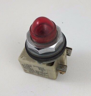 Square D Red Pilot Light 120VAC 9001-KP1-R9 30MM 9001KP1R9