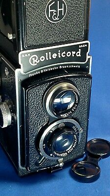Rolleicord  120 film camers f3.5