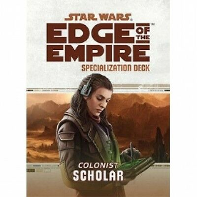 Star Wars Edge of the Empire Specialization Deck Scholar Brand New