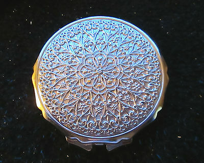 Vintage 92g Round Gold Made in JAPAN Unused Excellent Cond. Compact.
