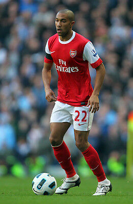 Gael Clichy MATCH WORN PHOTO MATCHED Game Used Match Worn Boots cleat! Arsenal!