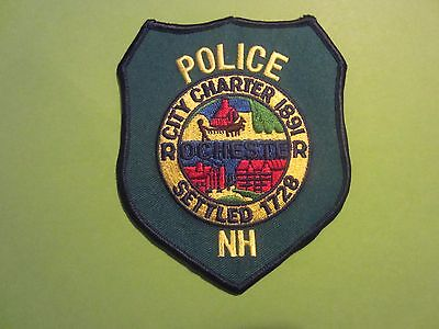 Collectible Rochester New Hampshire Police Patch New