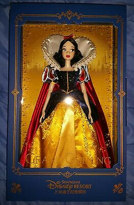 Snow White Shanghai Disneyland Grand Opening Limited Edition Doll LE 1200 disney