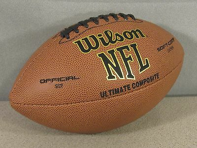 New WILSON NFL Ultimate Composite Football
