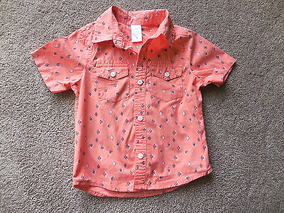 Boys Target Shirt - Size 3 - Cotton - Very Good Condition