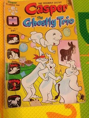 Casper and the Ghostly Trio September 1973 Harvey Comics