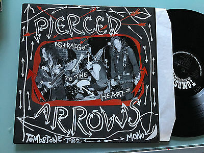 LP  USA 2008 MINT  Pierced Arrows – Straight To The Heart Label: Tombstone Reco