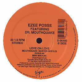 Ezee Posse Featuring Dr Mouthquake - Love On Love - Virgin - 1989 #157690