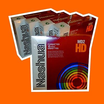 "Nashua MD2-HD Disketten 5¼"" OVP, ab 1 Pack"
