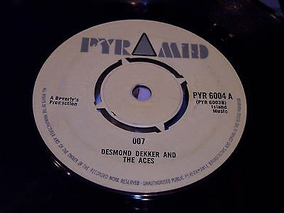 Desmond Dekker And The Aces , 007 . Listen To Both Sides .