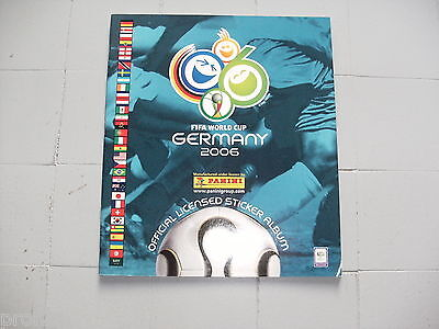*** Lot album panini + 40 autocollants World cup WC WM GERMANY 2006