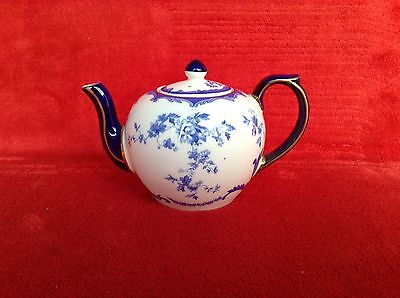 WADE RSPB Centenary Small Blue & White Teapot
