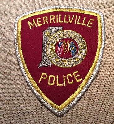 IN Merrillville Indiana Police Patch