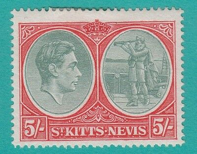St Kitts Nevis 88 Mint  Lightly Hinged Og  No Faults Very Fine !