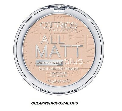 Catrice - Poudre compacte - All Matt Plus Shine Control - N°010 Transparent