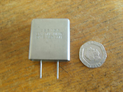 """10Xaj""  6825 Khz Crystal For Amateur Radio Transmitters And Receivers,"