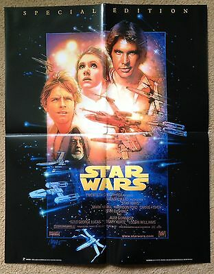 Set of 5 STAR WARS promo posters EMPIRE STRIKES BACK RETURN OF THE JEDI