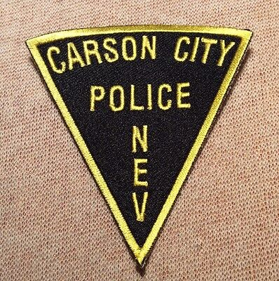 NV Carson City Nevada Police Patch (3In)